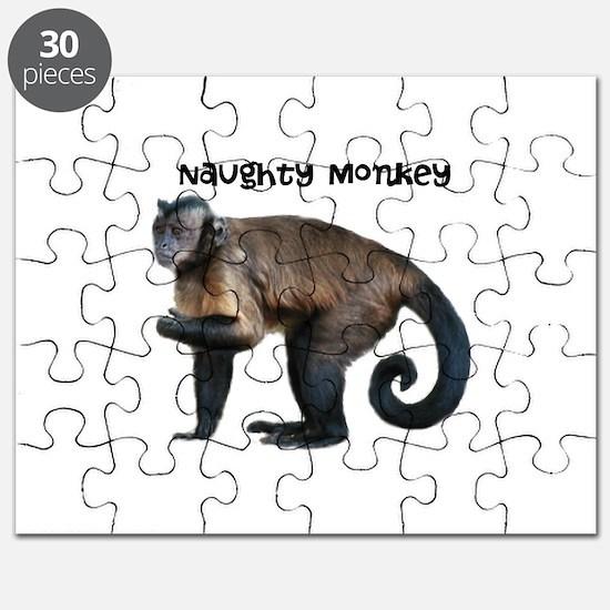Personalizable Monkey Photo Puzzle