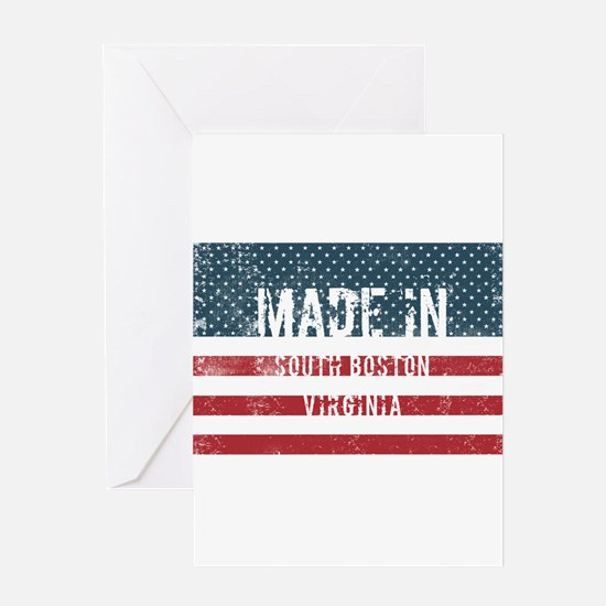 Made in South Boston, Virginia Greeting Cards