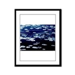 Here and now Framed Panel Print