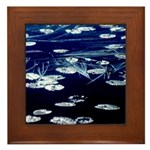 Here and now Framed Tile