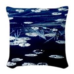 Here and now Woven Throw Pillow