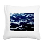 Here and now Square Canvas Pillow