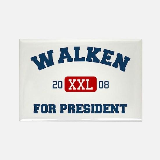 Walken for President Rectangle Magnet