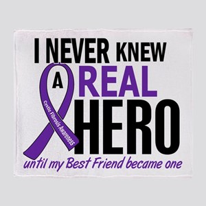 Cystic Fibrosis Real Hero 2 Throw Blanket