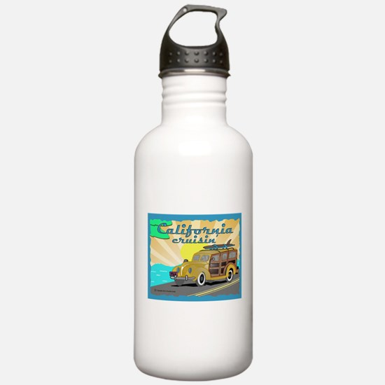 california dreamin Water Bottle