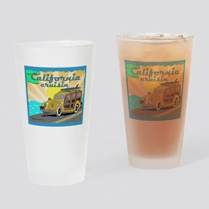 california dreamin Drinking Glass