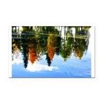 Fall colors Rectangle Car Magnet