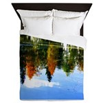 Fall colors Queen Duvet