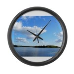 Summer Day Large Wall Clock