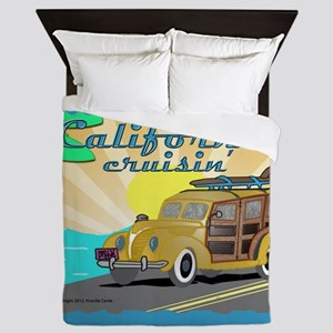 california dreamin Queen Duvet