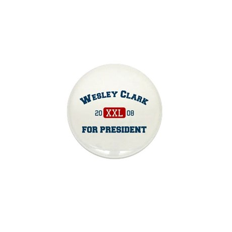 Wesley Clark for President Mini Button