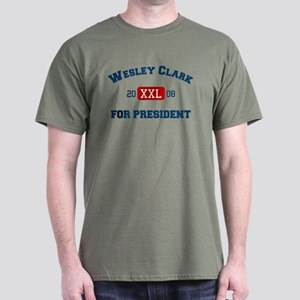 Wesley Clark for President Dark T-Shirt