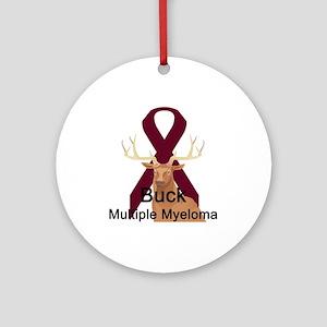 Mulitple Myeloma Ornament (Round)
