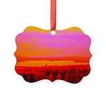 Sunset glow Ornament