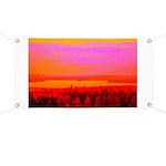 Sunset glow Banner