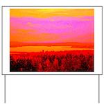 Sunset glow Yard Sign