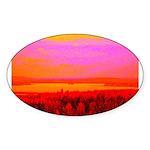 Sunset glow Sticker