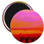 Sunset glow Magnets