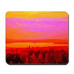Sunset glow Mousepad