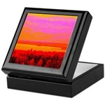 Sunset glow Keepsake Box