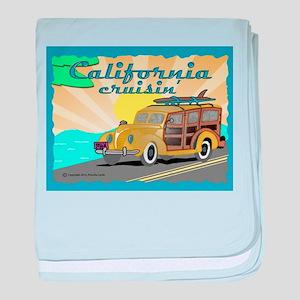 california dreamin baby blanket