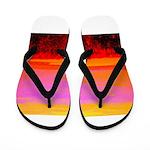 Sunset glow Flip Flops
