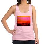 Sunset glow Racerback Tank Top