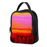 Sunset glow Neoprene Lunch Bag