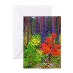 Fall colors Greeting Cards