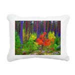 Fall colors Rectangular Canvas Pillow