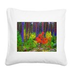 Fall colors Square Canvas Pillow