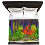 Fall colors King Duvet