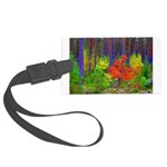 Fall colors Luggage Tag