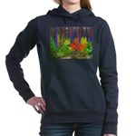 Fall colors Women's Hooded Sweatshirt