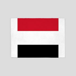 Flag of Yemen 5'x7'Area Rug
