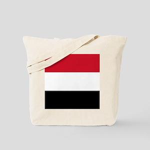 Flag of Yemen Tote Bag