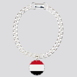 Flag of Yemen Charm Bracelet, One Charm