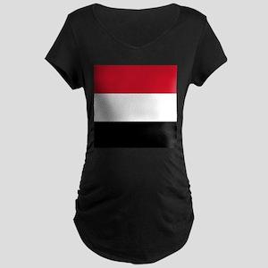 Flag of Yemen Maternity T-Shirt