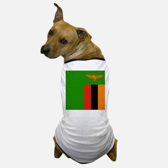Flag of Zambia Dog T-Shirt