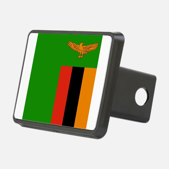 Flag of Zambia Hitch Cover