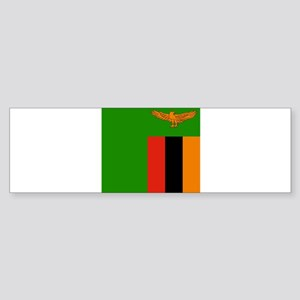 Flag of Zambia Bumper Sticker
