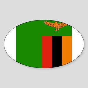 Flag of Zambia Sticker