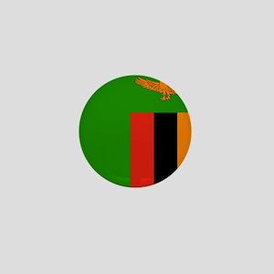 Flag of Zambia Mini Button
