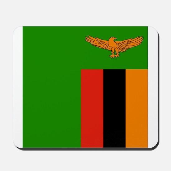 Flag of Zambia Mousepad