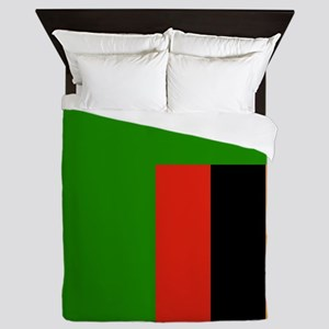 Flag of Zambia Queen Duvet