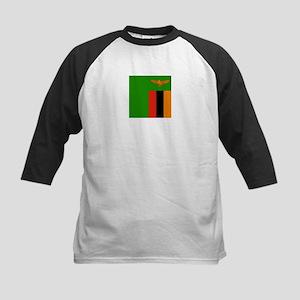 Flag of Zambia Baseball Jersey