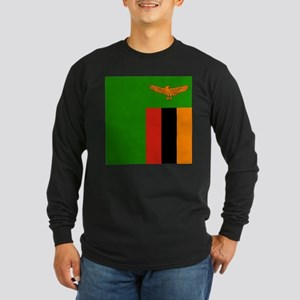 Flag of Zambia Long Sleeve T-Shirt