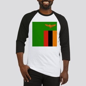 Flag of Zambia Baseball Jersey