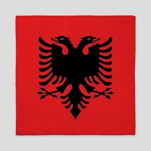 Flag of Albania Queen Duvet