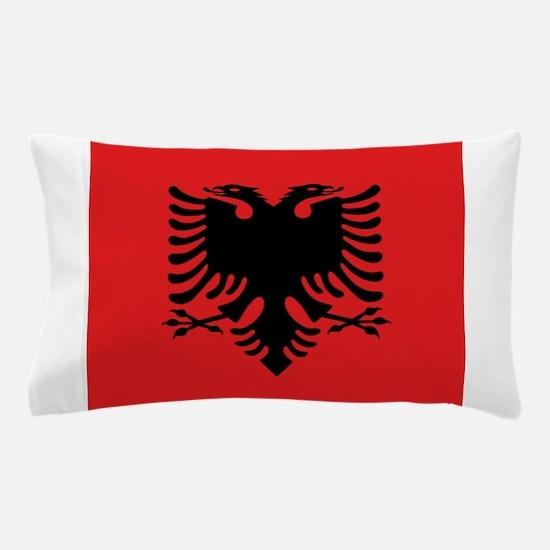 Flag of Albania Pillow Case